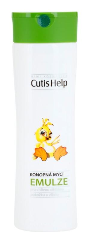CutisHelp Mimi loção de limpeza de cânhamo para bebés 0+