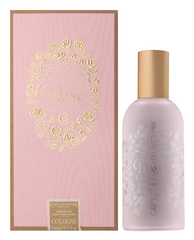 Czech & Speake Rose woda kolońska dla kobiet 100 ml