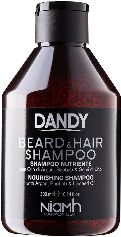 DANDY Beard & Hair Shampoo Shampoo für Haare und Bart
