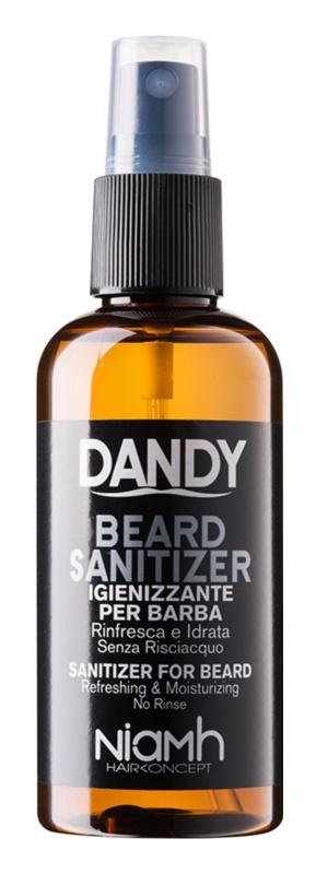 DANDY Beard Sanitizer dezinfekcijsko pršilo brez spiranja za zaščito brade