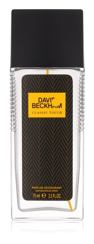 David Beckham Classic Touch deodorant s rozprašovačem pro muže 75 ml