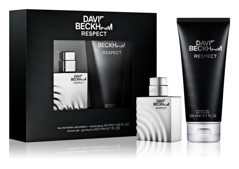 David Beckham Respect подарунковий набір I.
