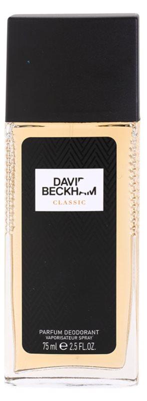 David Beckham Classic dezodorant z atomizerem dla mężczyzn 75 ml