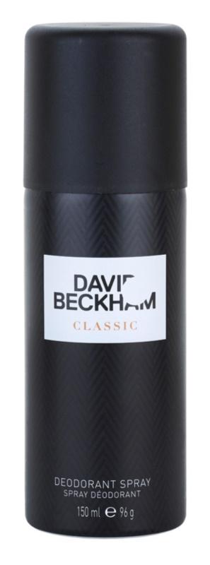 David Beckham Classic дезодорант-спрей для чоловіків 150 мл