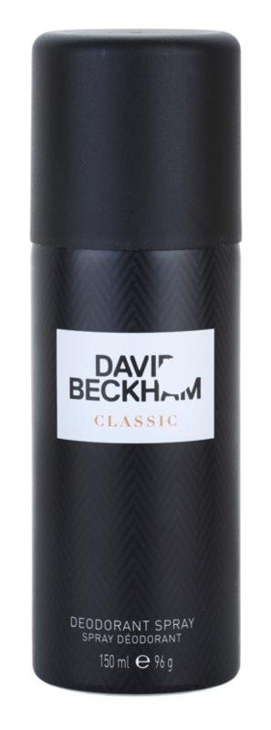 David Beckham Classic déo-spray pour homme 150 ml