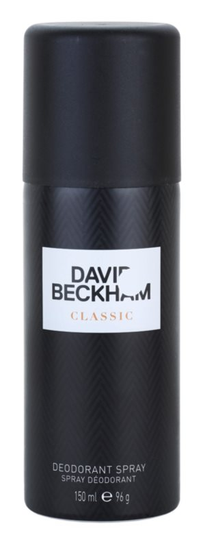 David Beckham Classic deo sprej za moške 150 ml