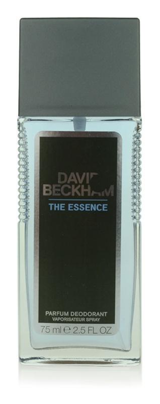 David Beckham The Essence desodorante con pulverizador para hombre 75 ml