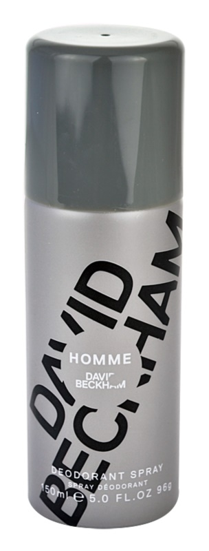 David Beckham Homme deodorant Spray para homens 150 ml