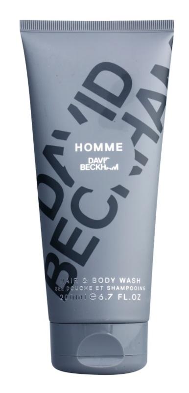 David Beckham Homme gel doccia per uomo 200 ml
