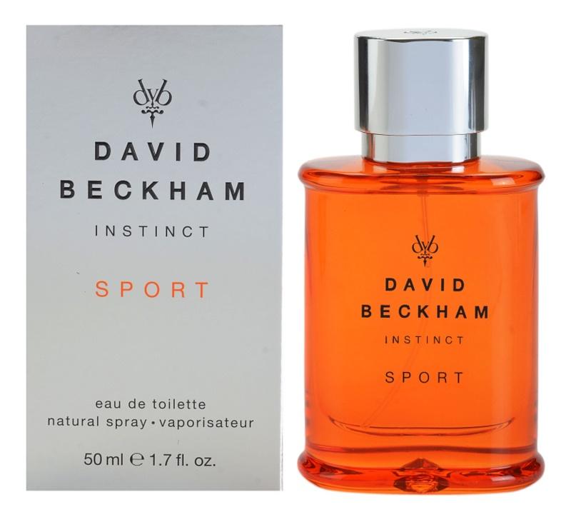 David Beckham Instinct Sport eau de toilette pour homme 50 ml