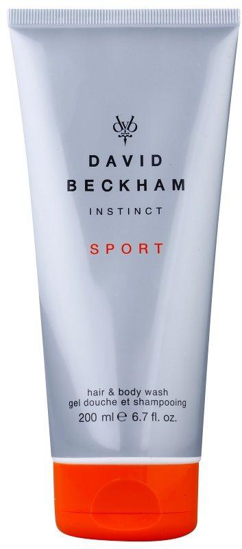 David Beckham Instinct Sport Duschgel Herren 200 ml