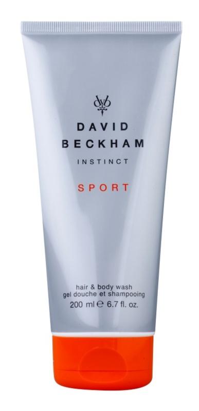 David Beckham Instinct Sport gel douche pour homme 200 ml