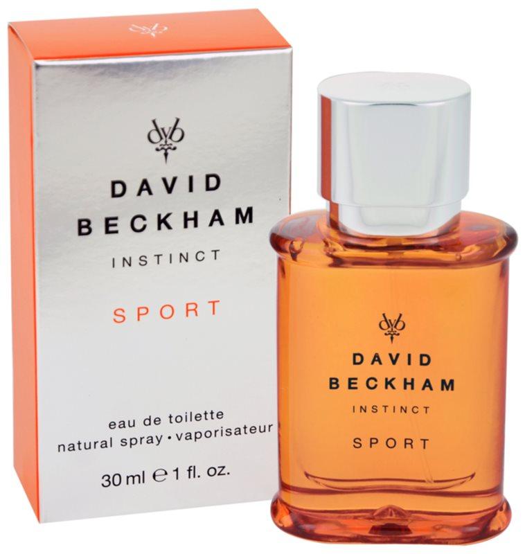 David Beckham Instinct Sport Eau de Toilette für Herren 30 ml