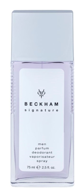 David Beckham Signature for Him Deo met verstuiver voor Mannen 75 ml