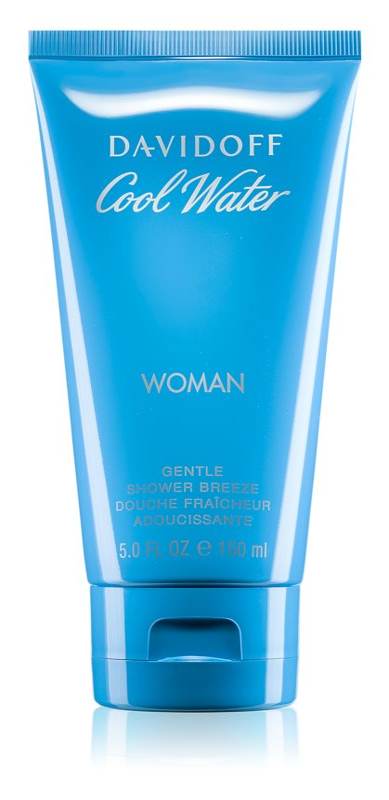 Davidoff Cool Water Woman sprchový gél pre ženy 150 ml