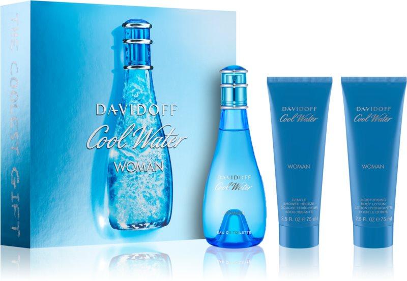 Davidoff Cool Water Woman Geschenkset XIV.