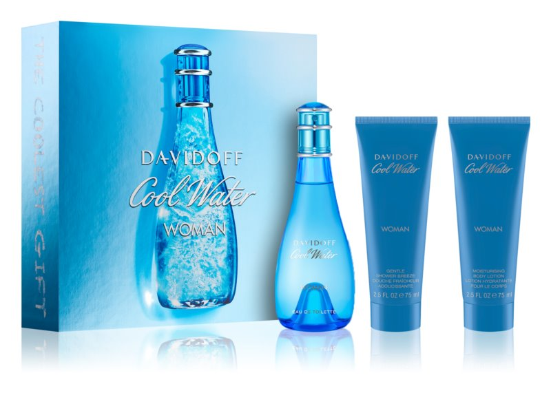 Davidoff Cool Water Woman set cadou XIV.