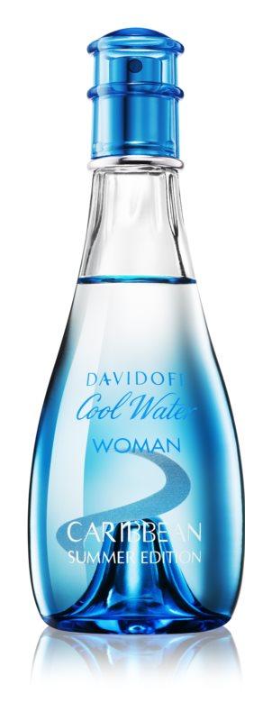 Davidoff Cool Water Woman Caribbean Summer Edition eau de toilette para mulheres 100 ml