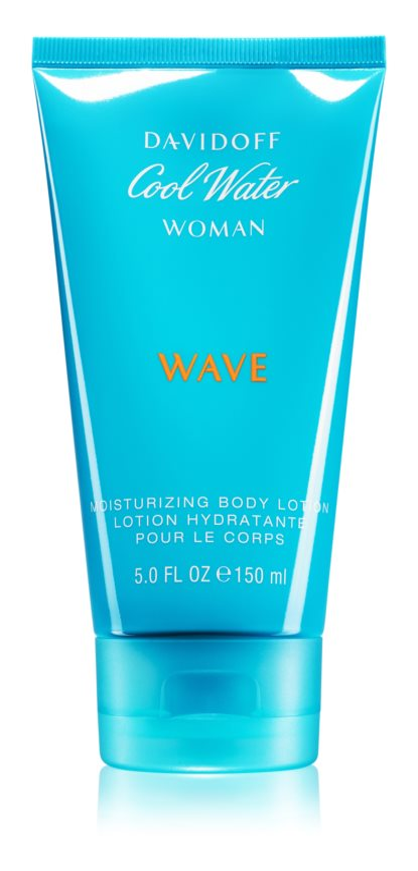 Davidoff Cool Water Woman Wave losjon za telo za ženske 150 ml