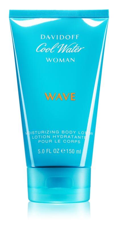 Davidoff Cool Water Woman Wave tělové mléko pro ženy 150 ml