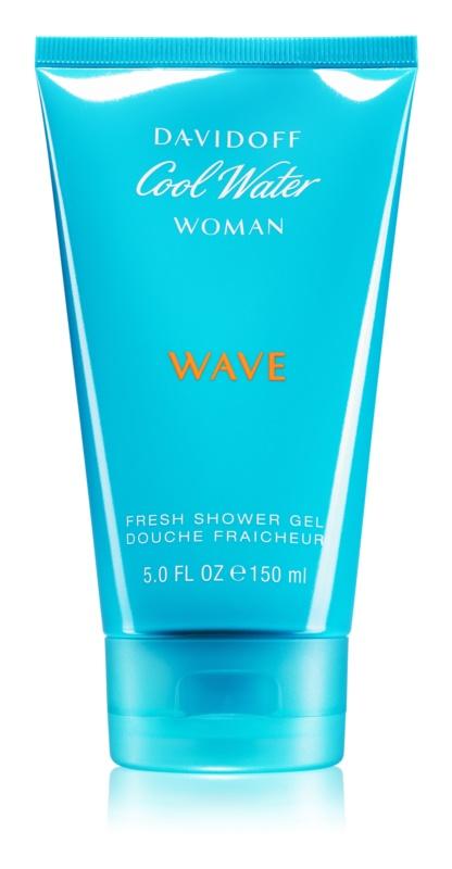 Davidoff Cool Water Woman Wave Shower Gel for Women 150 ml