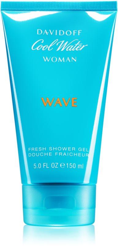 Davidoff Cool Water Woman Wave sprchový gel pro ženy 150 ml