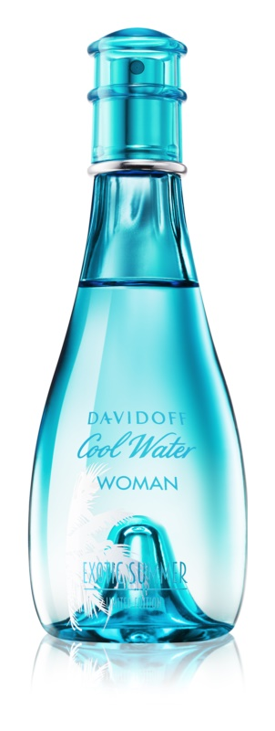 Davidoff Cool Water Woman Exotic Summer Limited Edition eau de toilette pour femme 100 ml
