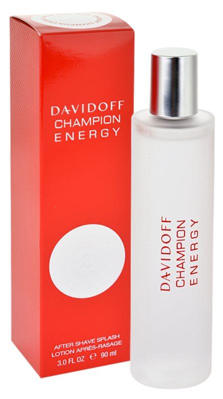 Davidoff Champion Energy borotválkozás utáni arcvíz férfiaknak 90 ml
