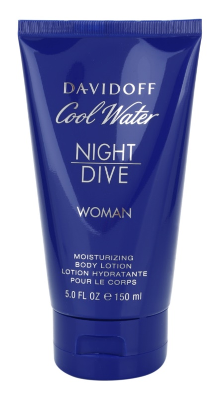 Davidoff Cool Water Woman Night Dive latte corpo per donna 150 ml
