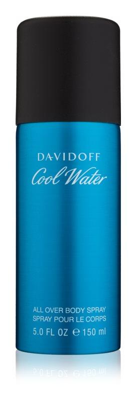 Davidoff Cool Water spray do ciała dla mężczyzn 150 ml