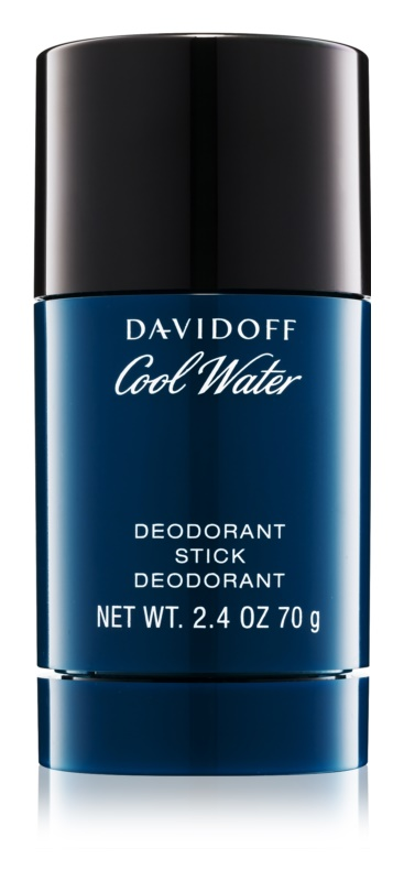 Davidoff Cool Water déodorant stick pour homme 70 ml