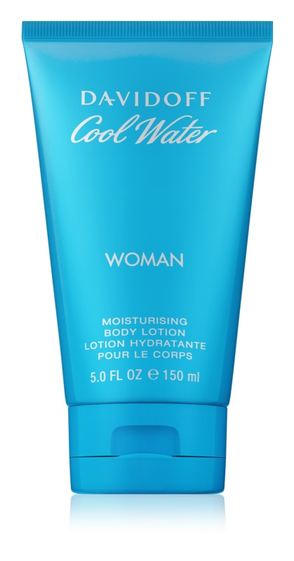 Davidoff Cool Water Woman lotion corps pour femme 150 ml