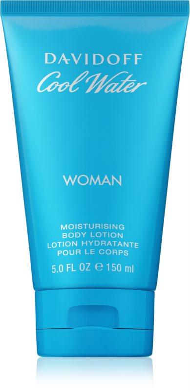Davidoff Cool Water Woman telové mlieko pre ženy 150 ml