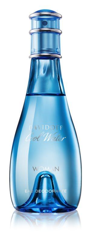Davidoff Cool Water Woman deodorant s rozprašovačem pro ženy 100 ml