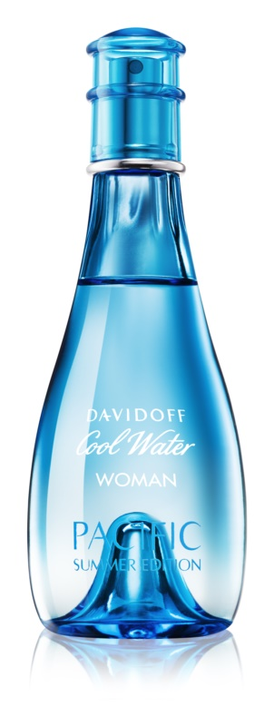Davidoff Cool Water Woman Pacific Summer Edition Eau de Toilette voor Vrouwen  100 ml
