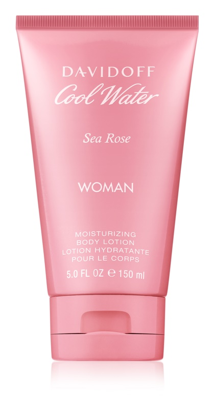 Davidoff Cool Water Woman Sea Rose leite corporal para mulheres 150 ml