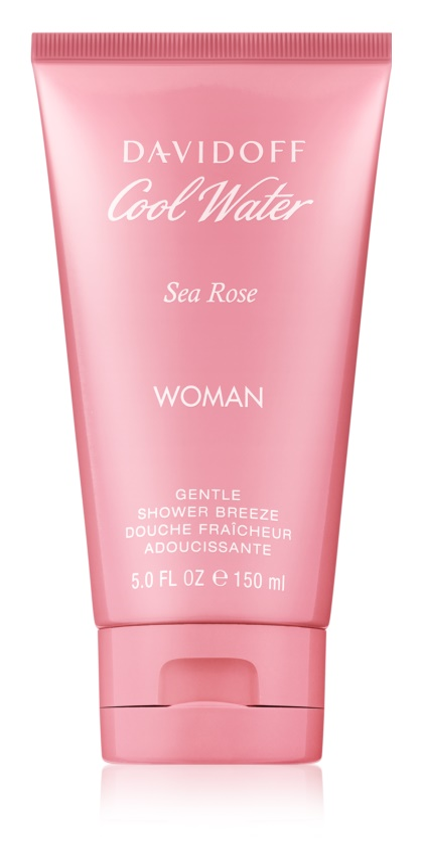 Davidoff Cool Water Woman Sea Rose gel za prhanje za ženske 150 ml