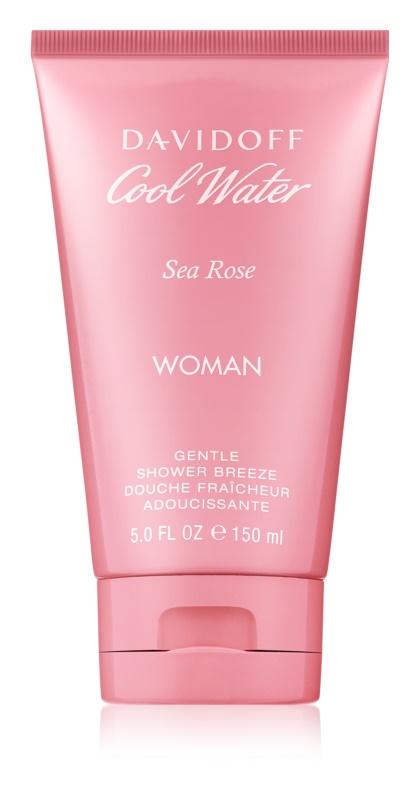 Davidoff Cool Water Woman Sea Rose sprchový gel pro ženy 150 ml