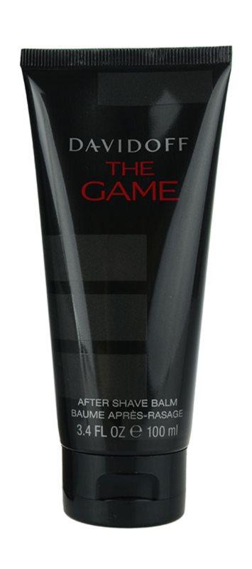 Davidoff The Game after shave balsam pentru barbati 100 ml