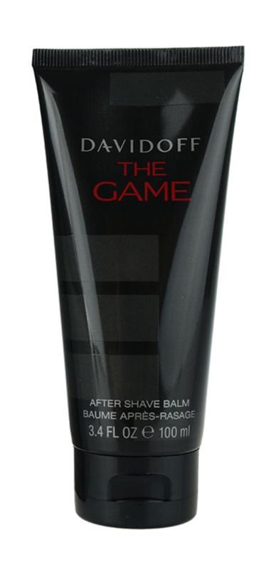 Davidoff The Game balsam po goleniu dla mężczyzn 100 ml