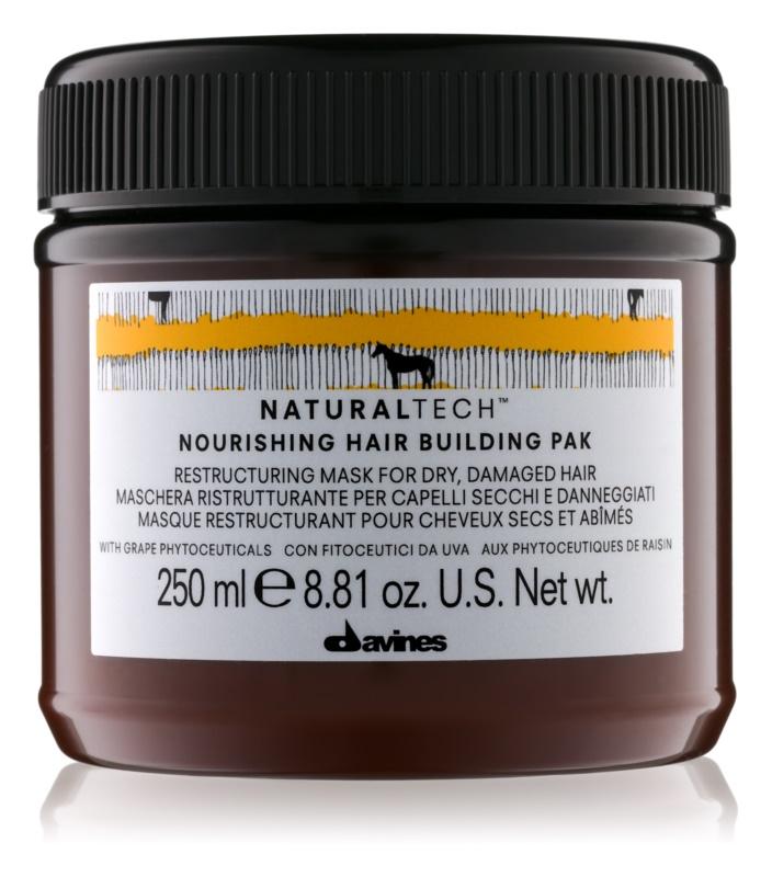 Davines Naturaltech Nourishing maska pre suché a poškodené vlasy