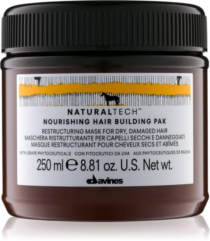 Davines Naturaltech Nourishing Masker  voor Droog en Beschadigd Haar
