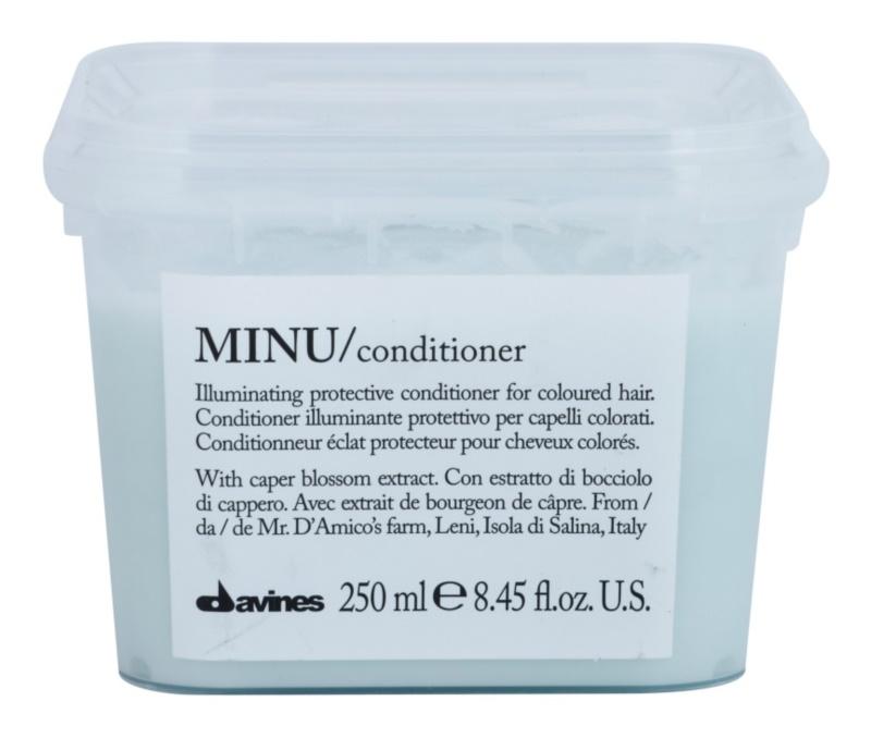 Davines Minu Caper Blossom Beschermende Conditioner  voor Gekleurd Haar