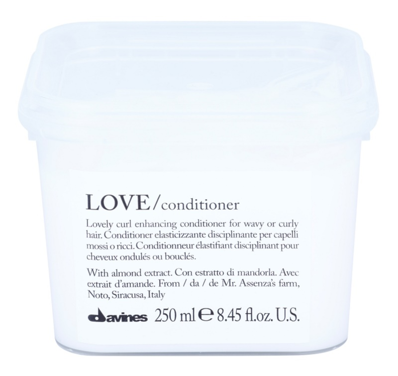 Davines Love Almond odżywka do włosów kręconych