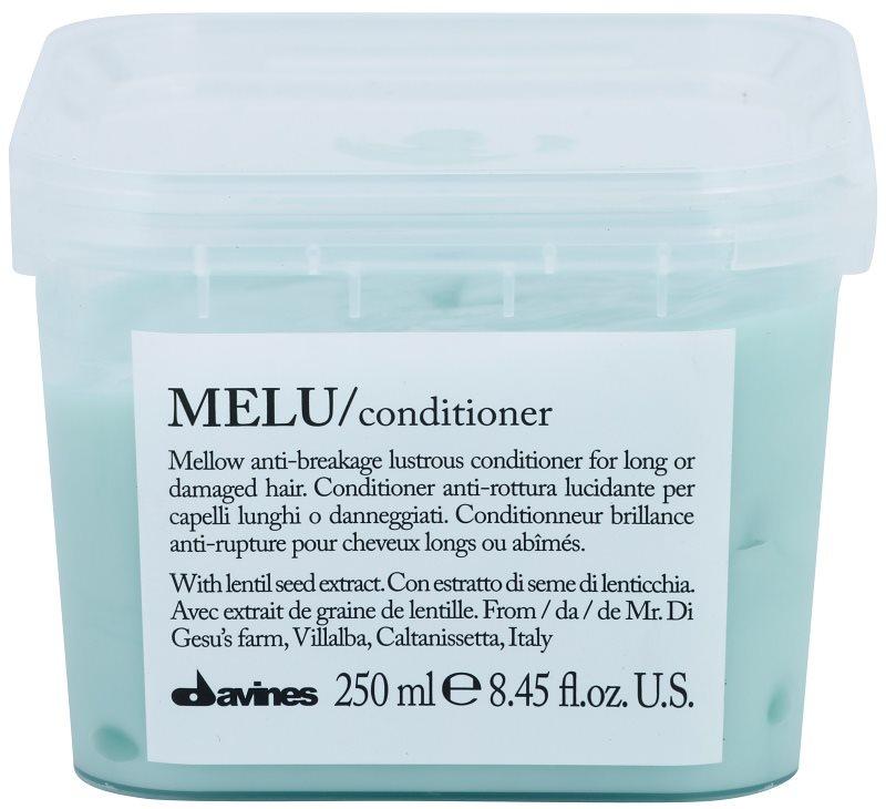 Davines Melu Lentil Seed acondicionador suave para cabello dañado y frágil