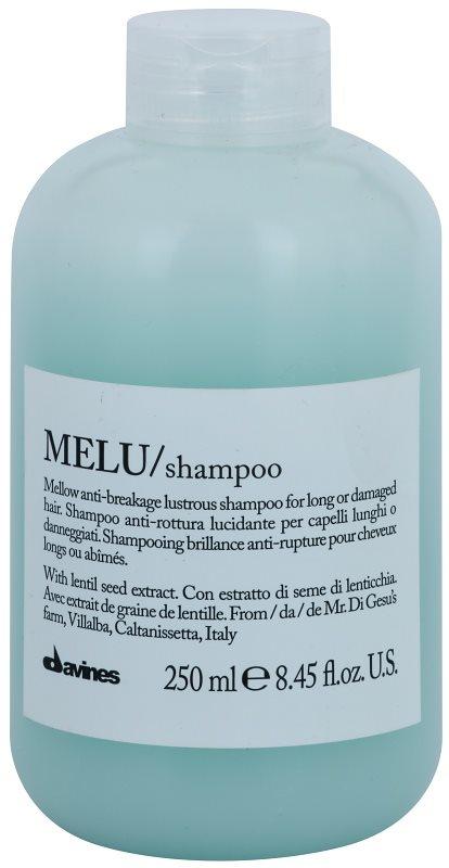 Davines Melu Lentil Seed Zachte Shampoo  voor Beschadigd en Broos Haar