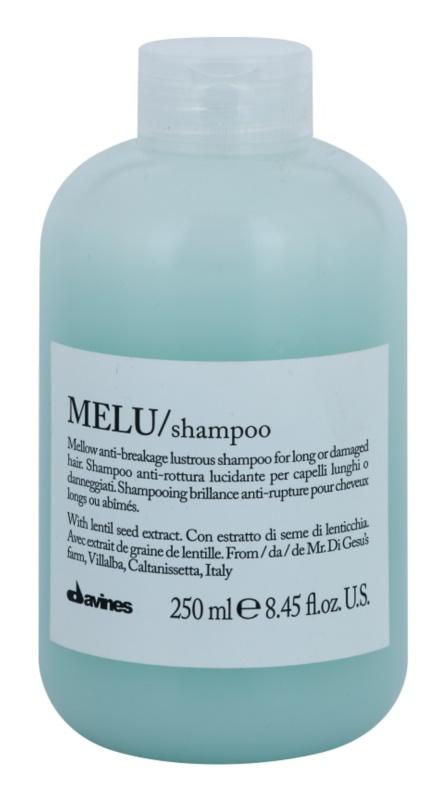 Davines Melu Lentil Seed м'який шампунь для пошодженого та ослабленого волосся