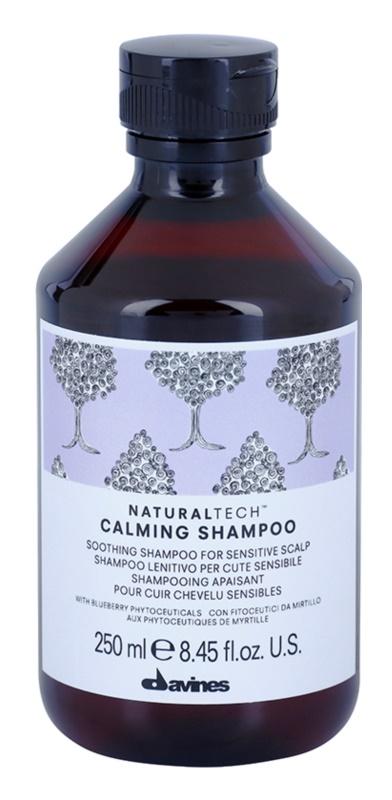 Davines Naturaltech Calming Superactive заспокоюючий шампунь для чутливої шкіри голови