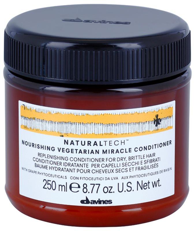 Davines Naturaltech Nourishing condicionador para o cabelo seco e frágil