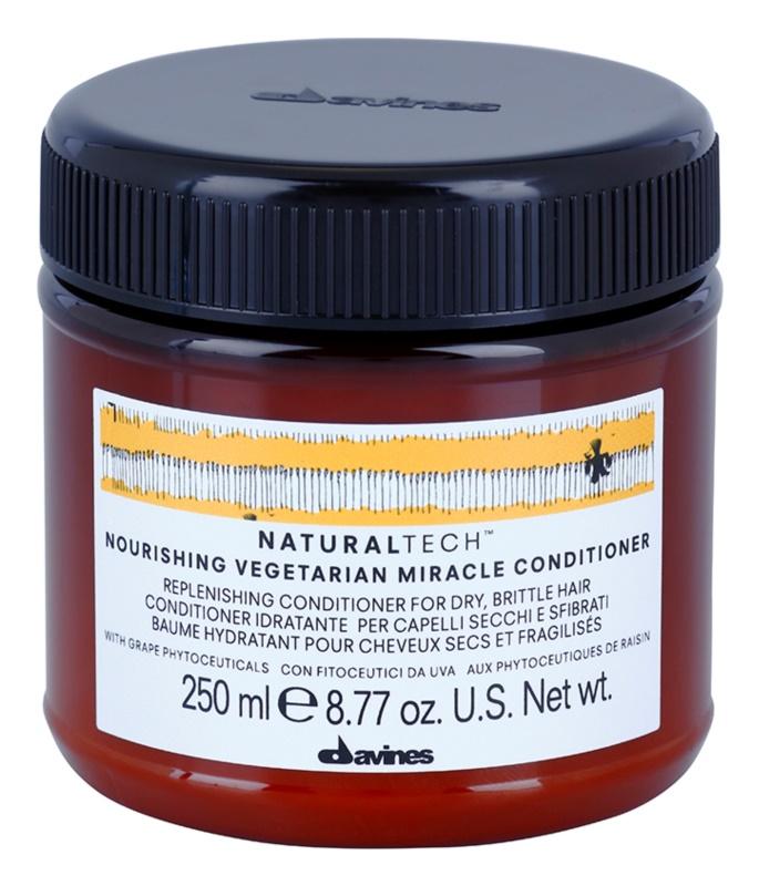 Davines Naturaltech Nourishing Conditioner  voor Droog en Broos Haar